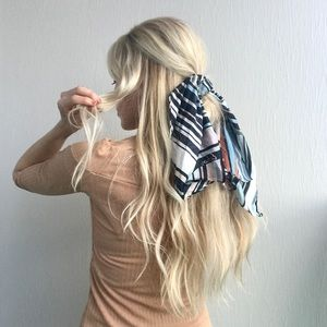 Silk scarf from Nordstrom